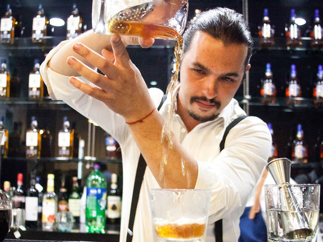 Bartender Philippe Zaigue