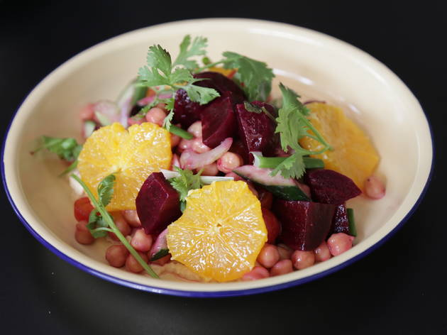 Sitka roast beetroot with citrus