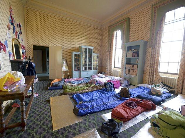 Kids Sleepover At Kensington Palace