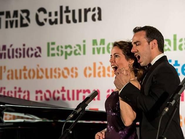 Día Europeo de la Ópera en el Metro Diagonal