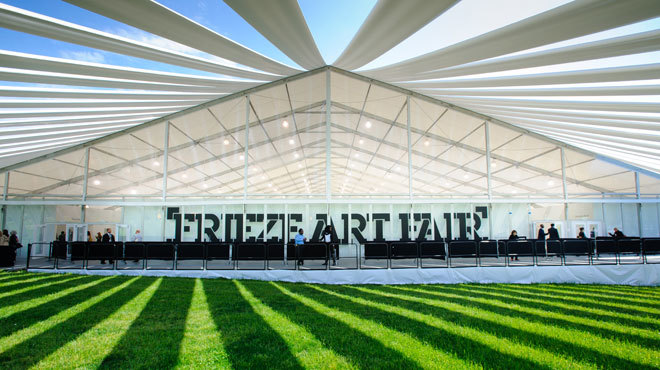 Stuff your face and see great art at the Frieze Art Fair (2015)