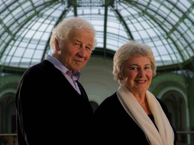(Ilya et Emilia Kabakov sous la Nef du Grand Palais / © Réunion des musées nationaux-Grand Palais / Photo Mirco Magliocca)