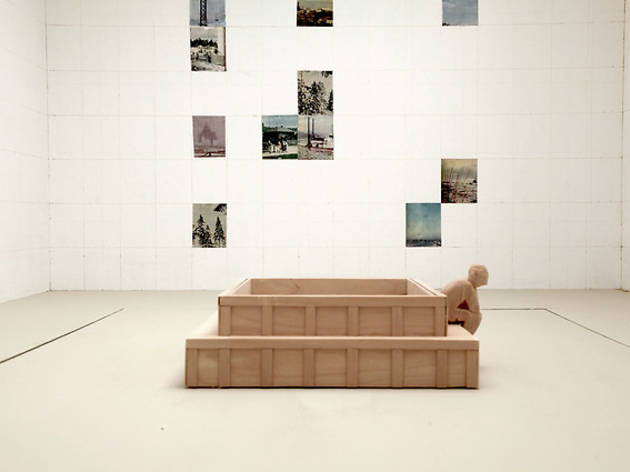 (Ilya et Emilia Kabakov, 'Etude pour la Chapelle blanche', maquette, Monumenta 2014 / © Ilya et Emilia Kabakov / ADAGP, Paris 2014 )