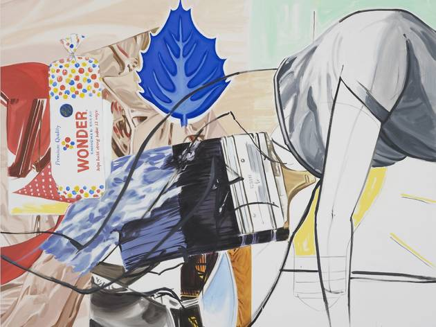 David Salle ('Grace of' 2013-2014)