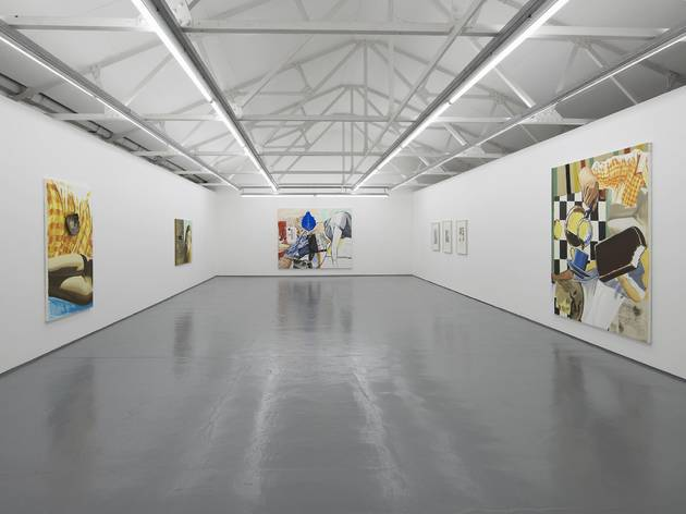 David Salle (Exhibition view)