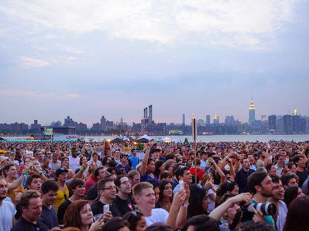 Free summer concerts in NYC