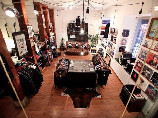 Cuervo Store: discos + conciertos