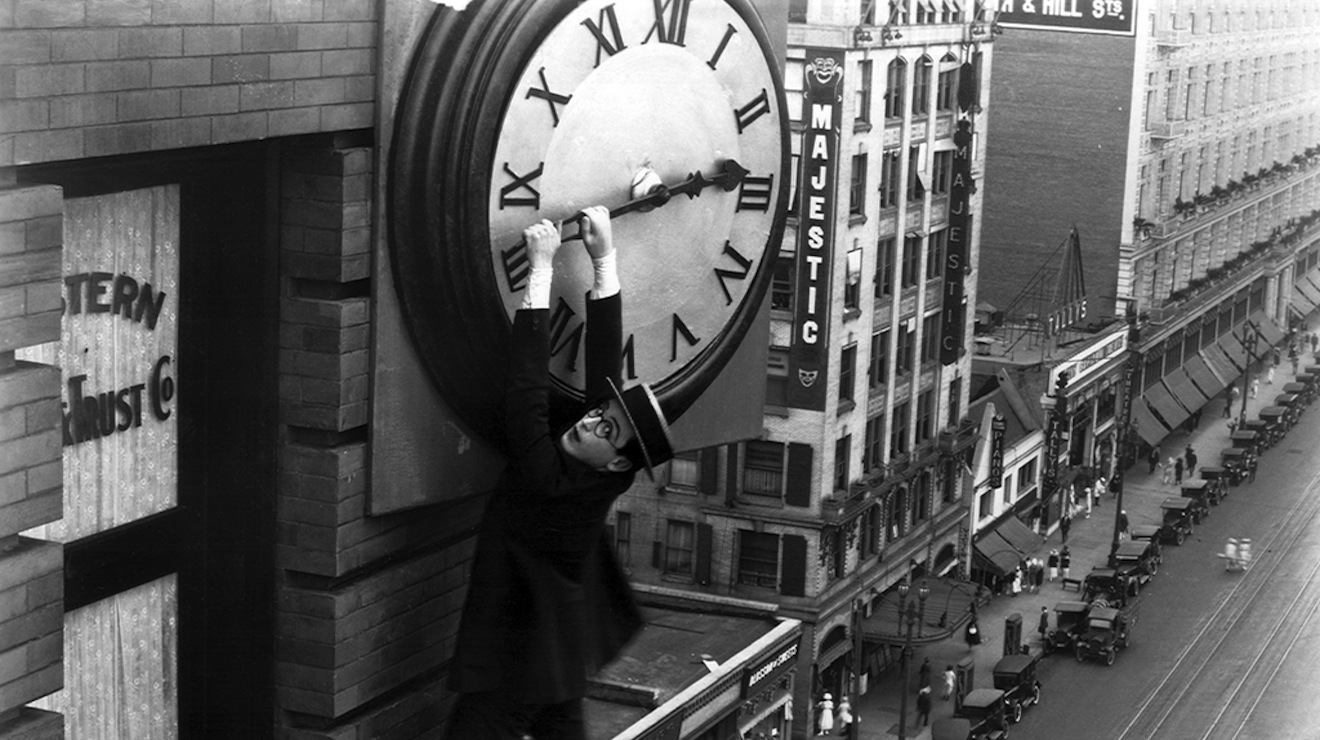 The Clock - Christian Marclay (Harold Lloyd)