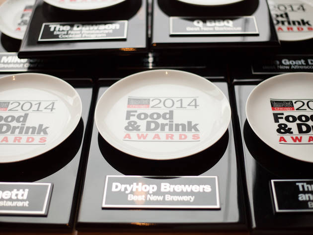 2014 Food & Drink Awards party at DryHop