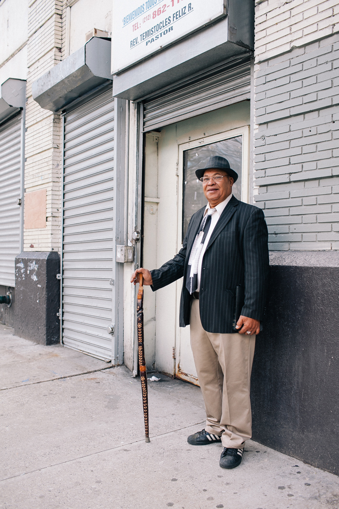 City stories: Francisco Polonia, 67, in Washington Heights
