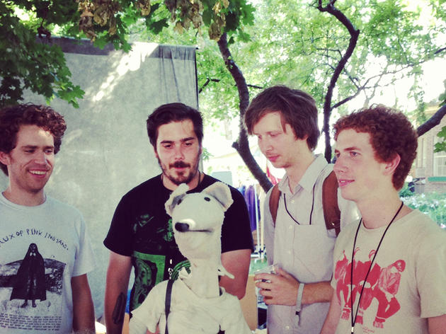 Parquet Courts at Empy Bottle; Aug 1