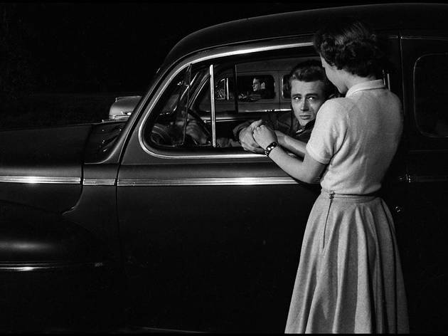 James Dean y Natalie Wood en 'Rebelde sin causa'