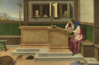 Vincenzo Catena  ('Saint Jerome in his Study', probably about 1510)