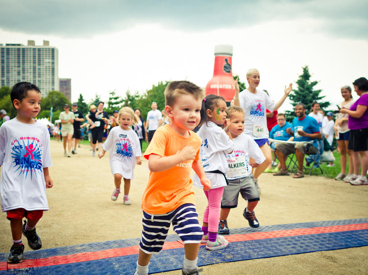 Family-friendly races teach kids to lead a healthy life