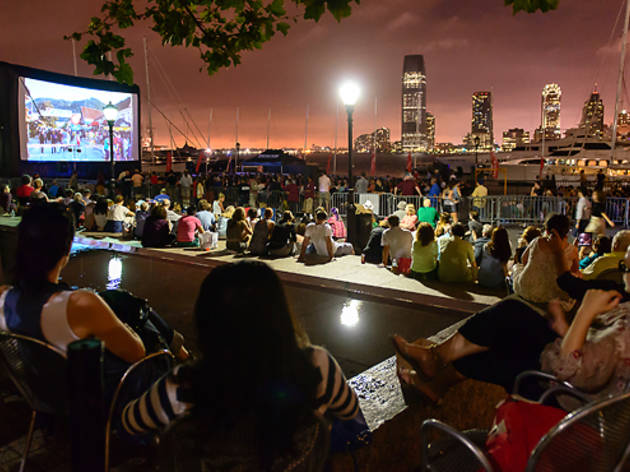 Catch a flick at Rooftop Films