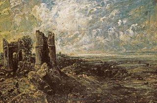 John Constable (Sketch for 'Hadleigh Castle' c1828–9)