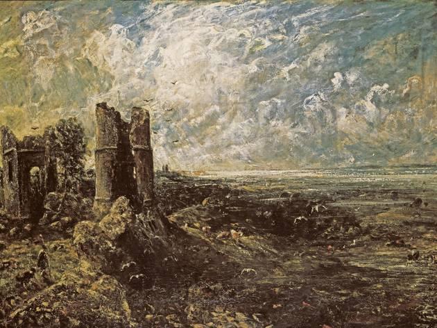 John Constable (Sketch for 'Hadleigh Castle' c1828–9)