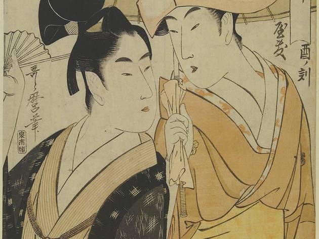 Kitagawa Utamaro ('Hour of the Clock, Servant from a samurai Mansion', 1798-1804)