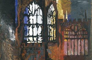 John Piper ('Coventry Cathedral', 1940)