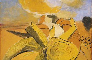 Graham Sutherland ('Midsummer Landscape', 1940)