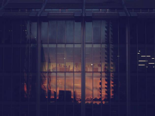 Blade Runner sunset