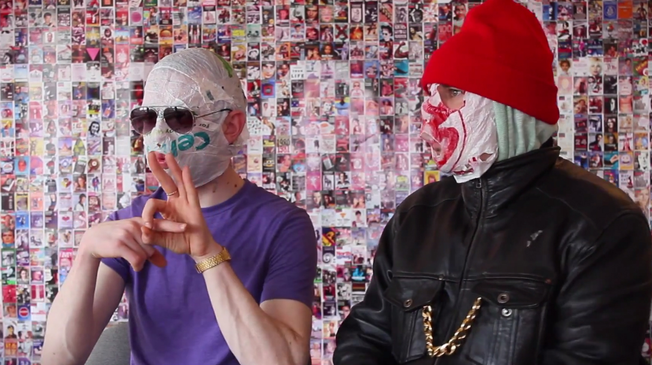 The internet interviews… The Rubberbandits