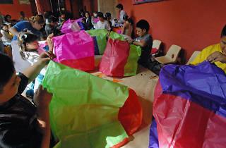 Taller para niños: El mundo como un globo de cantoya