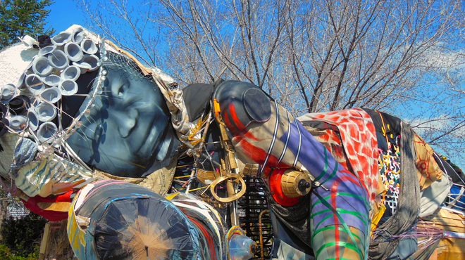 Destination: Socrates Sculpture Park