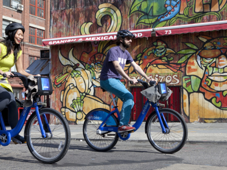 Citi Bike is offering unlimited free rides to New Yorkers this weekend