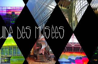 Guide des musées avec texte