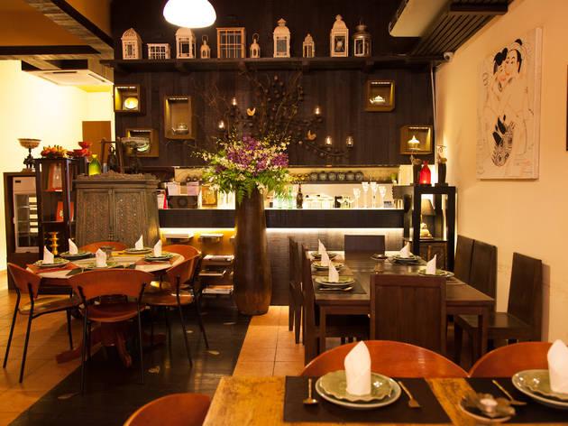 Top 40 restaurants and cafés