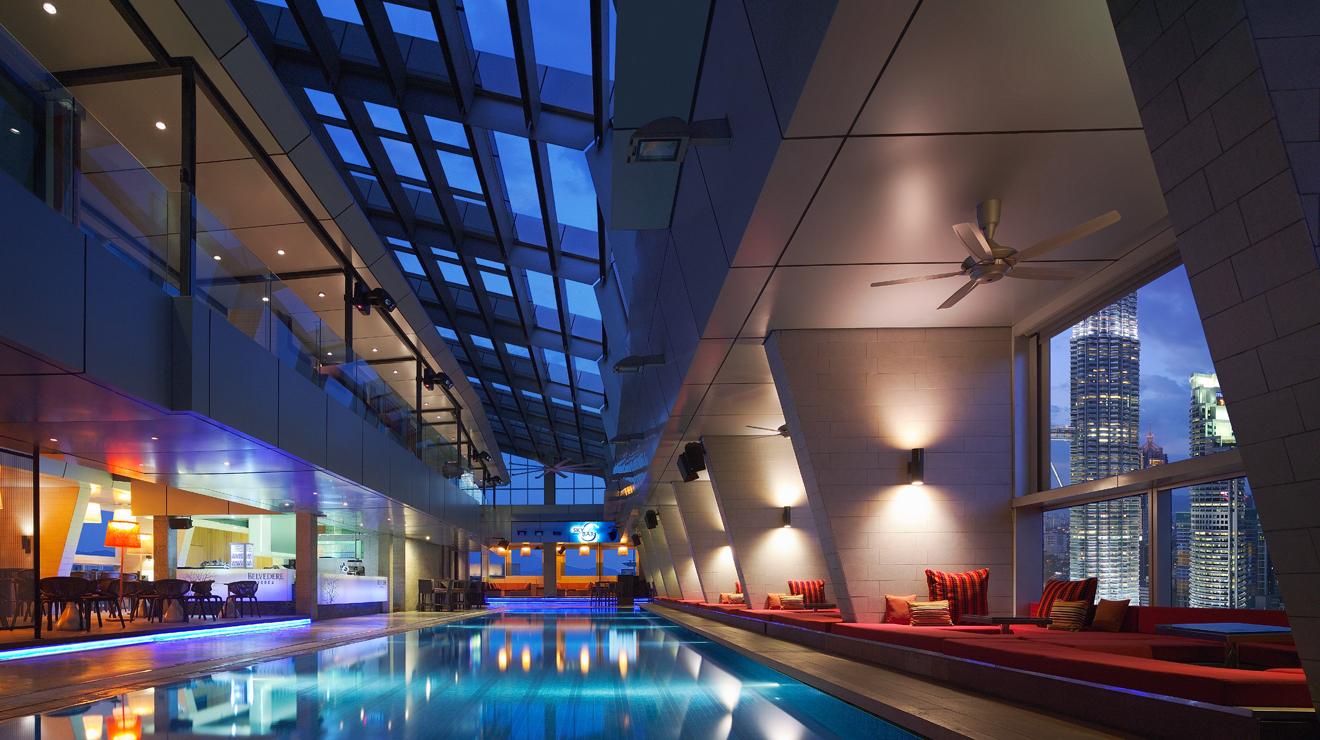 Best rooftop pools in KL