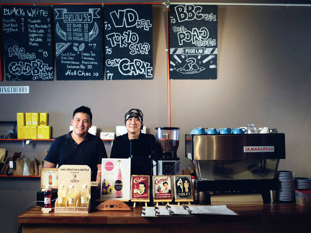 (Standing Theory owner Lim Yi Perng (left) and manager Melvin Cheng (right). Photo: Kahmun/Mythstudio)