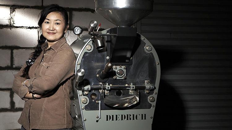 Coffee roaster and supplier Yip Sum Leong of Beans Depot. Photo: Kahmun/Mythstudio