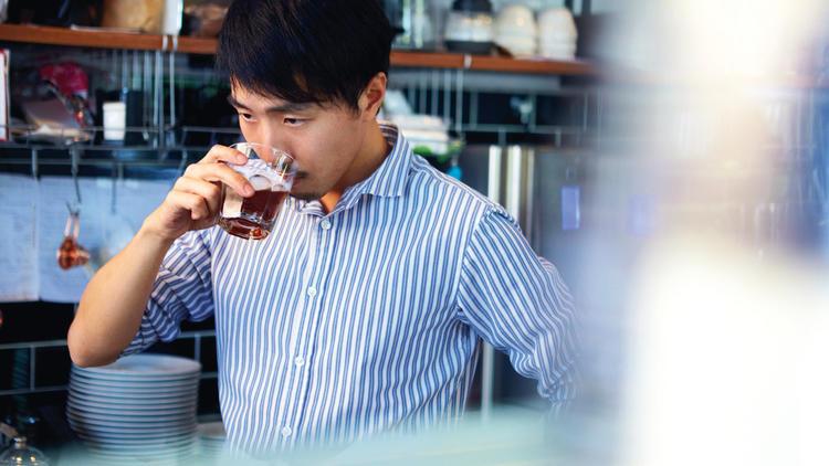 Joachim Leong, founder of Café Hop KL. Photo: Kahmun/Mythstudio