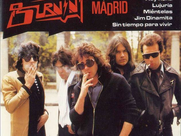 'Madrid', Burning