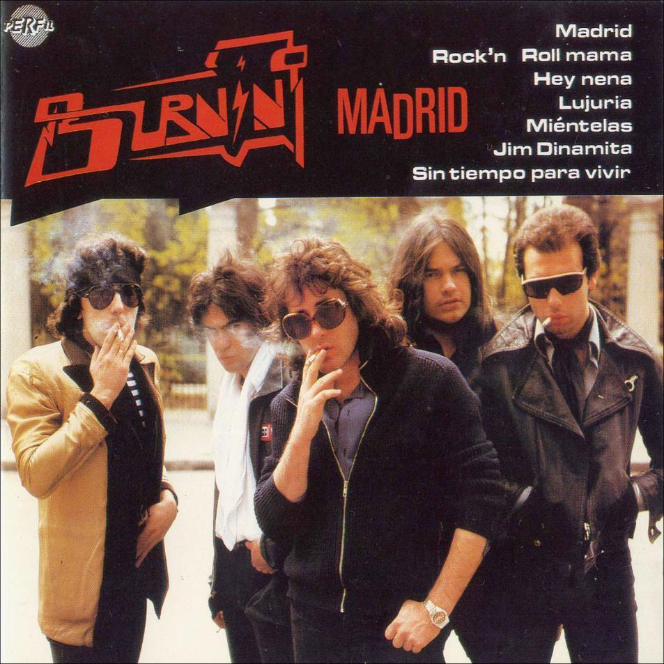 'Madrid', Burning