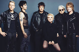 Blondie's Debbie Harry and Chris Stein