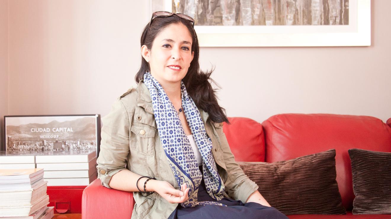 María Bustamante. Presidenta de FundarqMx