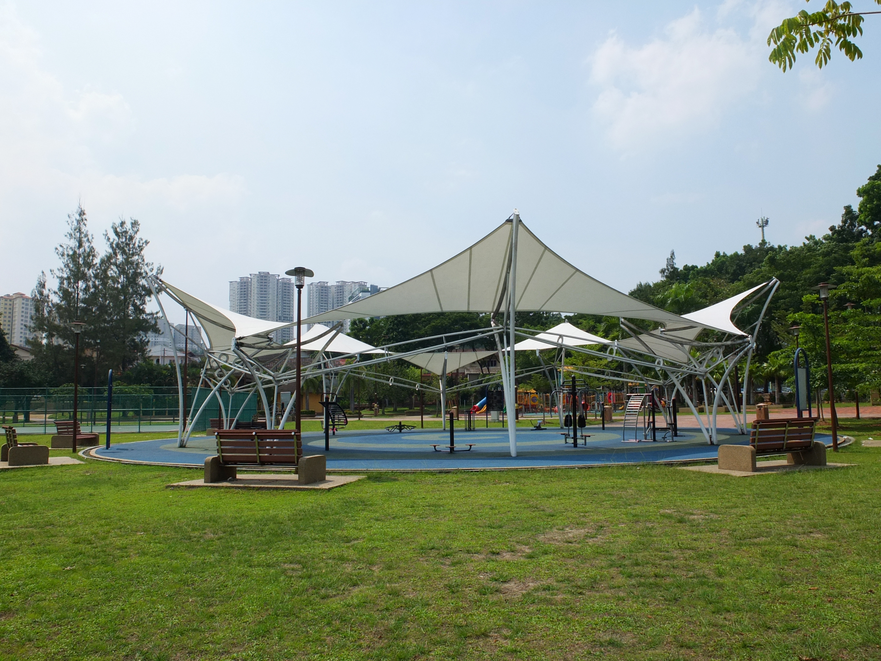 Best outdoor gyms in KL