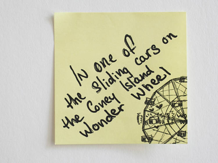 Sticky-note confessions: New Yorkers share 30 weird places they've had sex