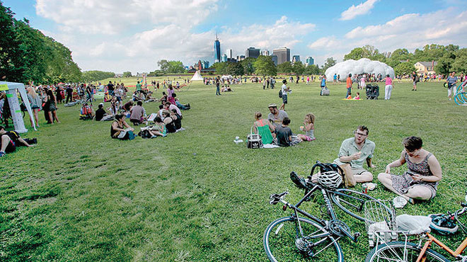What's new at Governors Island in 2014