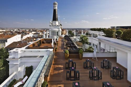 The Roof del hotel Me Madrid Reina Victoria