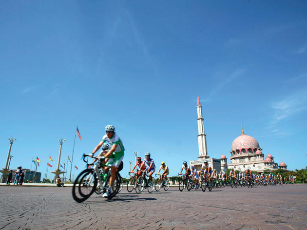Cycling Putrajaya