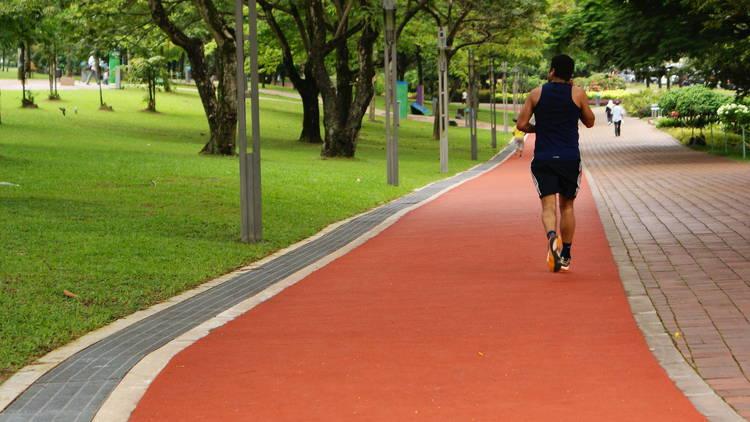 KLCC Park running