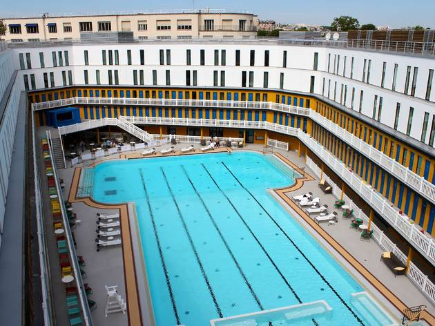 The best open air pools in paris things to do time out for Piscine molitor prix