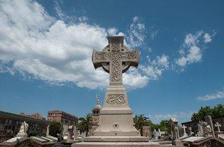 Cruz Celta (Cementerio de Montjuïc)