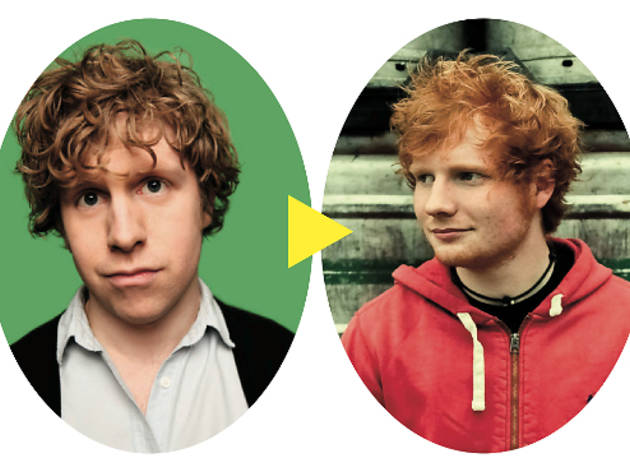 (Josh Widdicombe: © Andy Hollingworth. Ed Sheeran: © Christie Goodwin)