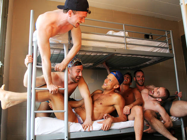 The new Botel Barracks offers bunks for boys on a budget.