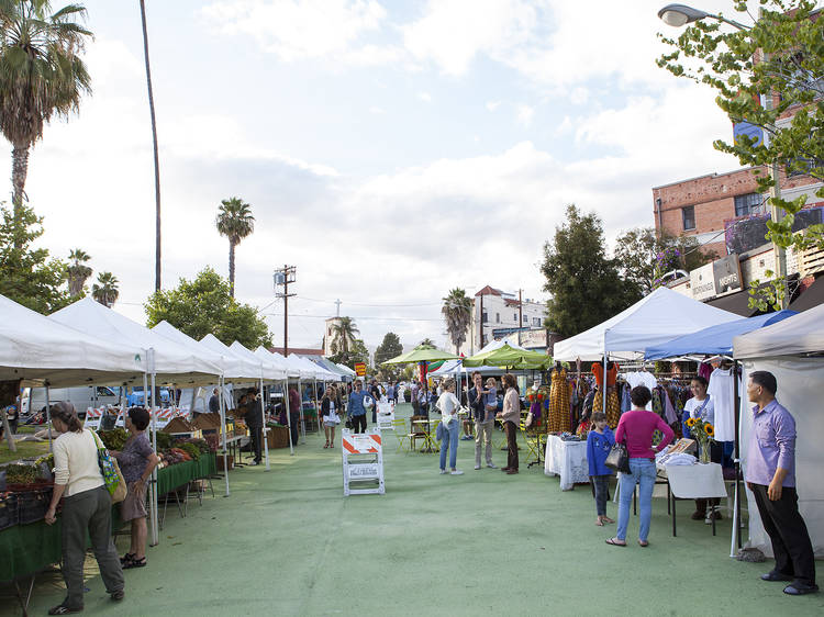 Stock up on produce at the Silver Lake Farmers' Market